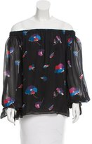 Jill Stuart Kohl Printed Top w/ Tags
