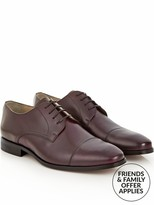 Reiss Men's Finley Leather Toe Cap Derby Shoes