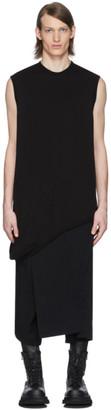 Julius Black Loop Sleeveless T-Shirt