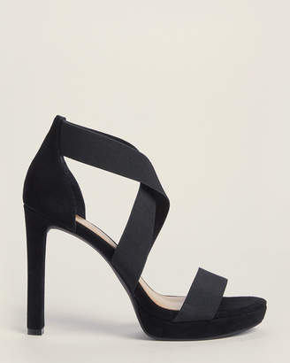 Jessica Simpson Black Lixen Strappy Platform Sandals