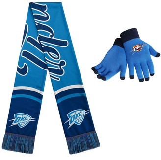 Women's Oklahoma City Thunder Glove and Scarf Set