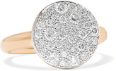 Pomellato Sabbia Ring Aus 18 Karat Mit Diamanten