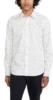 Paul Smith Long Sleeve Paper Airplane Button Down Shirt