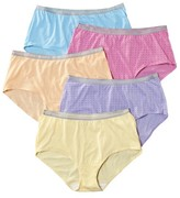 Fruit of the Loom Women's Fit for Me Briefs 5-Pack