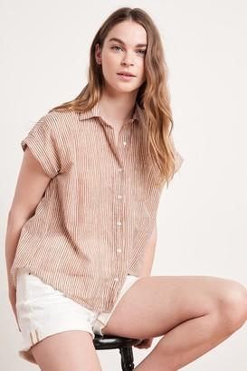 Velvet by Graham & Spencer Aleta Button-Up Shirt