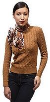 As Is Luxe Rachel Zoe Snow Leopard Print Wrap Scarf