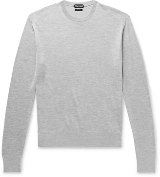 Tom Ford Silk And Cotton-Blend Sweater