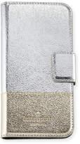 Kate Spade metallic folio iPhone 7 case