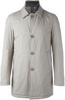 Herno double lapel zipped jacket