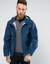 Ps By Paul Smith Paul Smith Waterproof Jacket With Hood In Navy