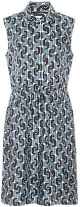S Max Mara Ostuni printed silk shirt dress