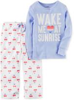 Carter's 2-Pc. Sunrise Pajama Set, Little Girls (4-6X) & Big Girls (7-16)