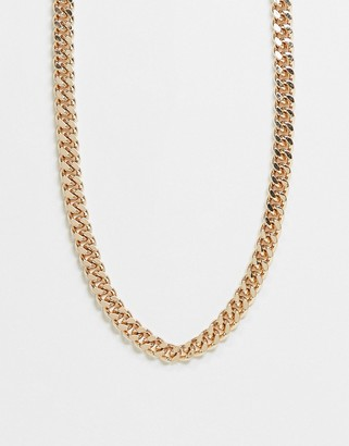 Weekday Heather chain necklace in gold