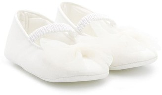MonnaLisa Bow Detail Ballet Shoes