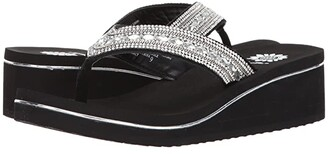 Yellow Box Marcy (Clear) Women's Sandals