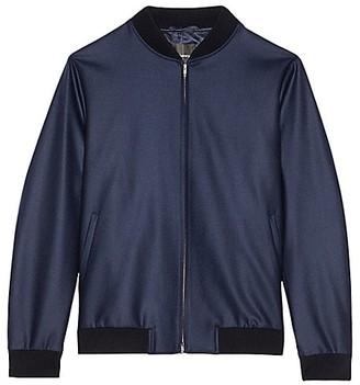 Theory Aiden Knowledge Wool Bomber Jacket