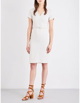 Max Mara V-neck pure-linen dress