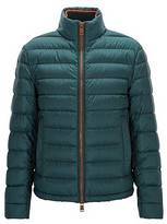 Hugo Boss Relaxed-fit down jacket in water-repellent technical fabric