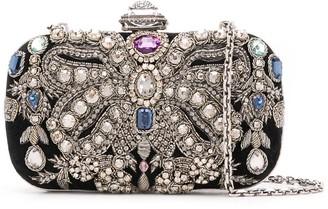 Alexander McQueen Crystal-Embellished Clutch