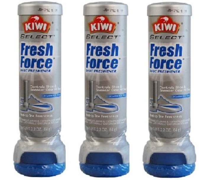 Kiwi Fresh Force Shoe Freshener Aerosol (3-Pack)