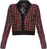 Haider Ackermann Tweed wool-blend cropped jacket