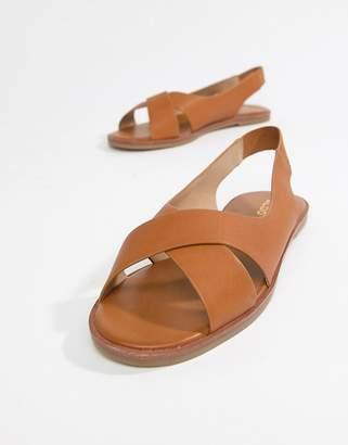Aldo flat summer shoes-Tan