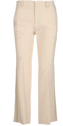 Gucci Cord Detail Bootcut Trousers