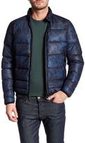 Diesel W-Yulius-1 Genuine Leather Collar Jacket