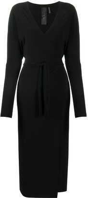 Norma Kamali Plain Wrap Dress