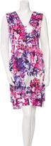 Erdem Printed Silk Dress w/ Tags