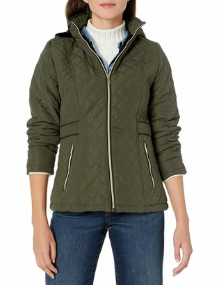 Big Chill Women's Diamond Quilted Hooded Jacket