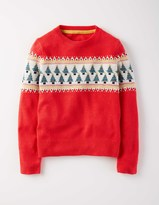 Boden Fun Festive Fair Isle Sweater