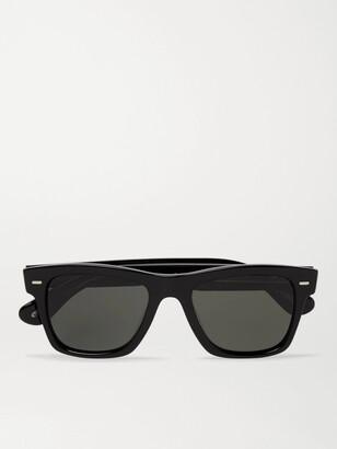 Oliver Peoples Oliver Sun Square-Frame Acetate Polarised Sunglasses