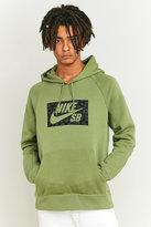 Nike Sb Leopard Print Green Hoodie
