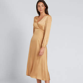 Seed Heritage Spot Wrap Dress