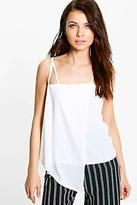 boohoo NEW Womens Sofia Wrap Front Cami in Polyester