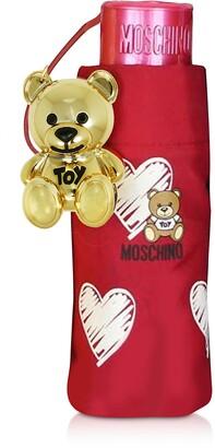Moschino Hearts and Bears Supermini Umbrella