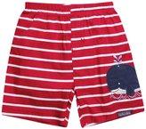 Jo-Jo JoJo Maman Bebe Swim Shorts (Baby)-Red/White-0-3 Months
