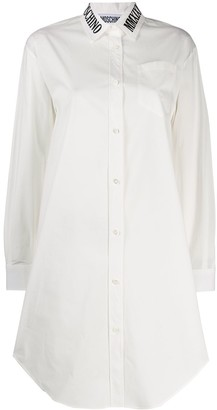 Moschino Roman Embroidery Long Shirt