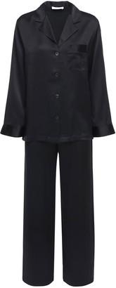 Luna Di Seta Silk Satin Pajama Set