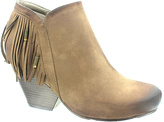 Pierre Dumas Taupe Beverly Bootie - Women