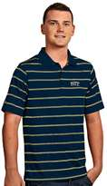 Antigua Men's Pitt Panthers Deluxe Striped Desert Dry Xtra-Lite Performance Polo