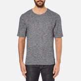 Folk Men's Textured TShirt - Navy/White