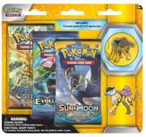 Pokemon 2017 Trading Cards 3pk Pin Blister featuring Raikou