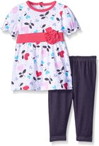 Bon Bebe Girls' 2 Piece Jegging Set with Top