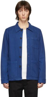 Nudie Jeans Blue Barney Jacket