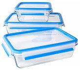 Zyliss Fresh 6-Piece Glass Food Storage Container Set