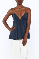 Do & Be Babydoll Sleeveless Top