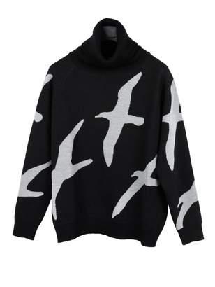 Christopher Raeburn Black Cotton Knitwear