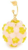 Simone Rocha Clustered-flower earring